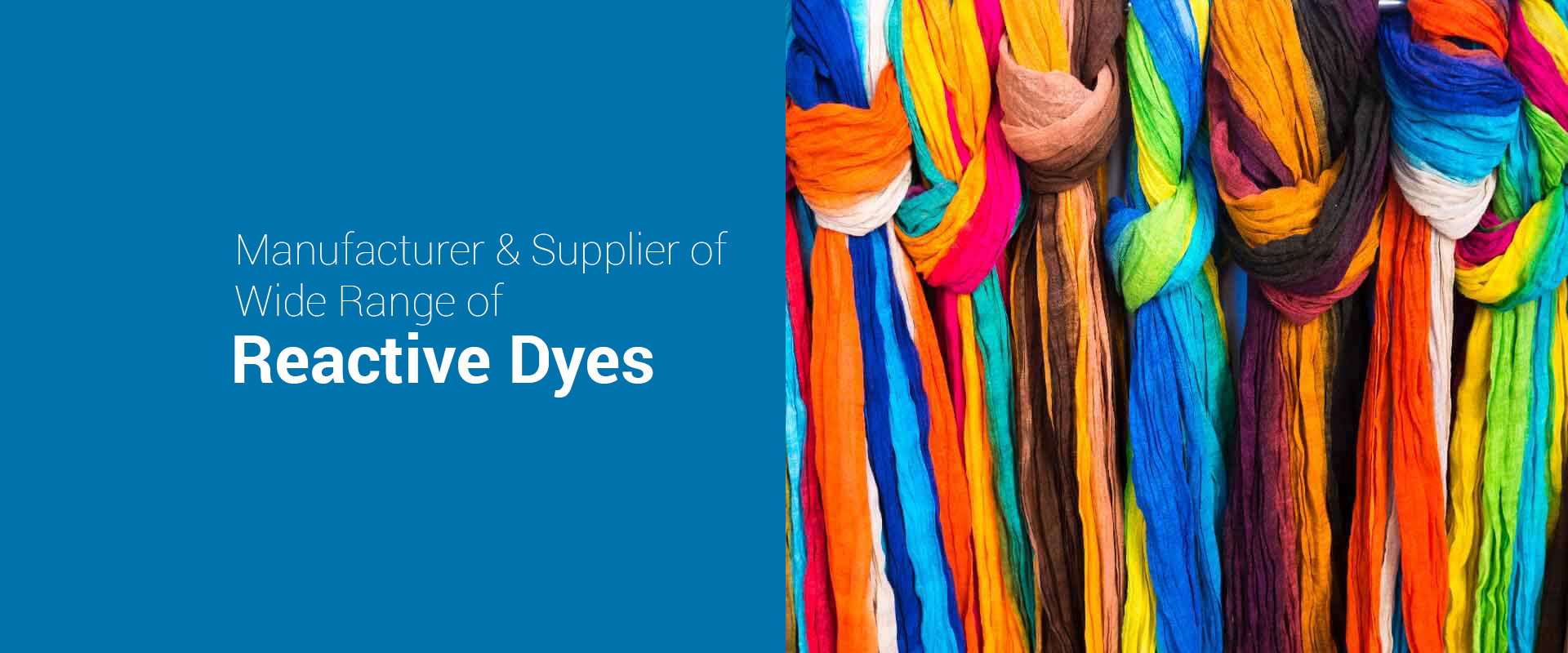 Reactive Dyes Manufacturer & Suppliers in India