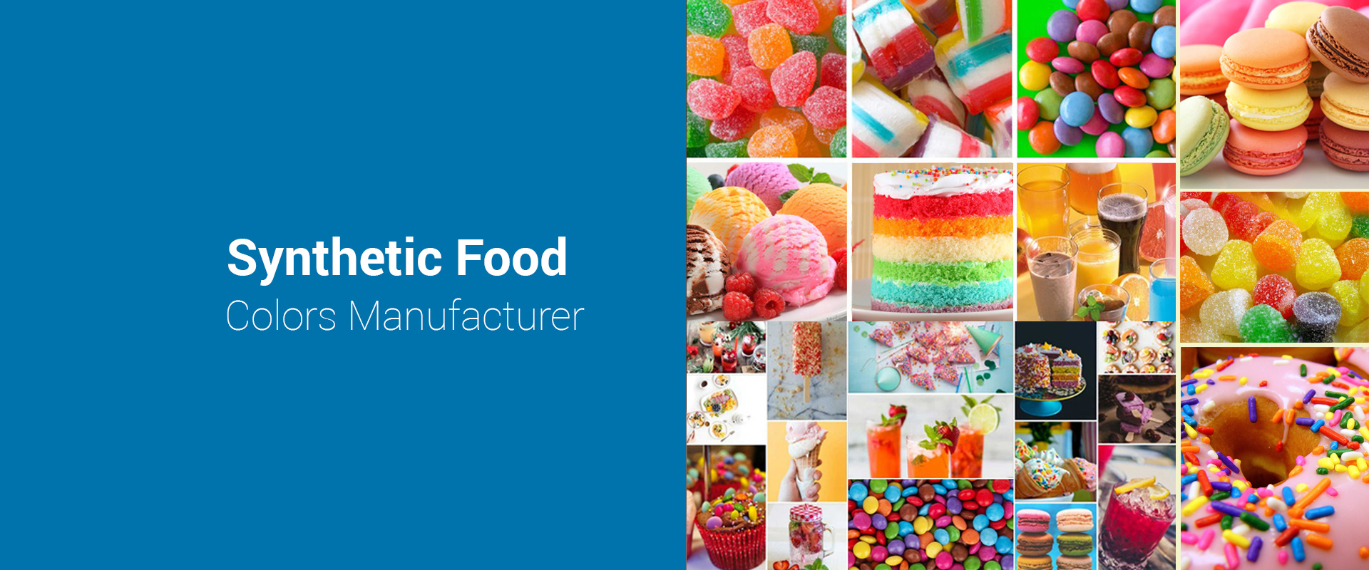 Food Colors, Synthetic Food Colors Manufacturer & Suppliers, India